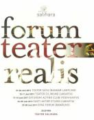Jadwal Forum Teater Realis di Salihara